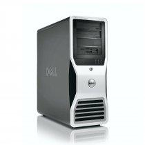 Dell Precision T7500, 4 magos CPU, 1 GB VGA Számítógép
