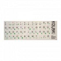 Kolink KBKOHUWB Fehér Billentyűzet matrica - 487 Ft